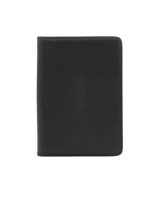 A.P.C. - Black Stefan Wallet for Men - Lyst