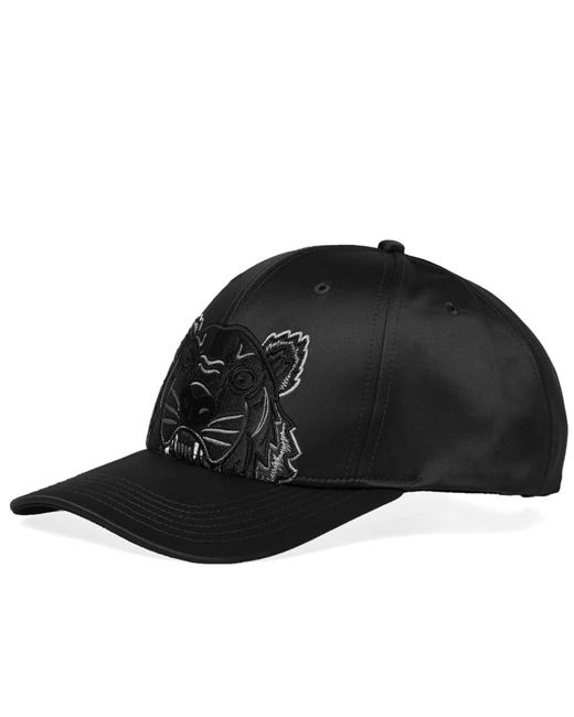 KENZO - Black Tiger Cap for Men - Lyst ... ce44dfc97b1c