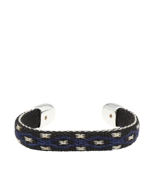 Chamula - Black Bendable Bracelet - Lyst