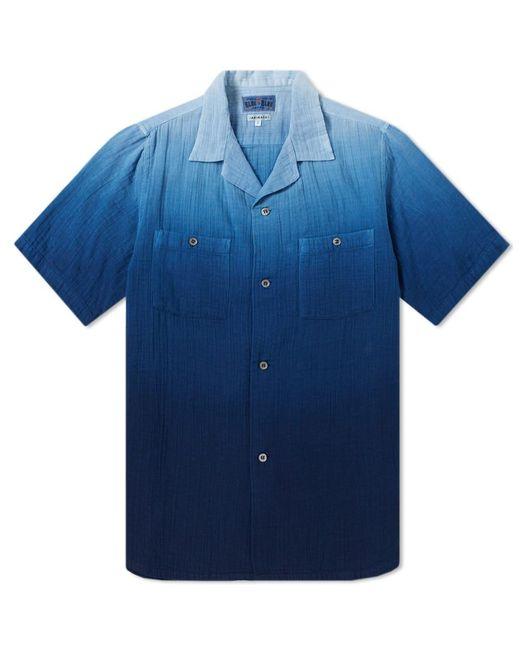 Blue Blue Japan - Blue Faded Indigo Shirt for Men - Lyst