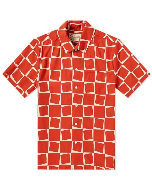 fa2de8ea51 Levi s - Red Levi s Vintage Clothing Short Sleeve 1950 s Shirt for Men -  Lyst ...