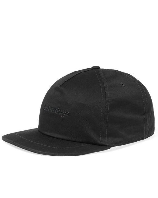 Saturdays NYC - Black Stanley Italics Cap for Men - Lyst