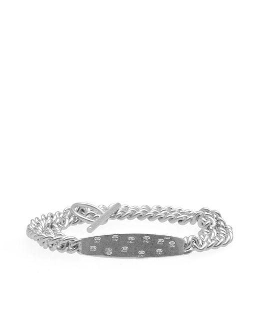 Maison Margiela | Metallic 11 Id Ring Bracelet | Lyst