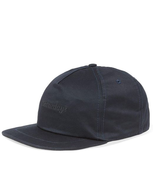 Saturdays NYC - Blue Stanley Italics Cap for Men - Lyst