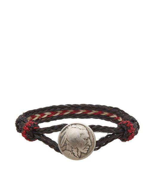 Chamula - Black Indian Concho Bracelet for Men - Lyst