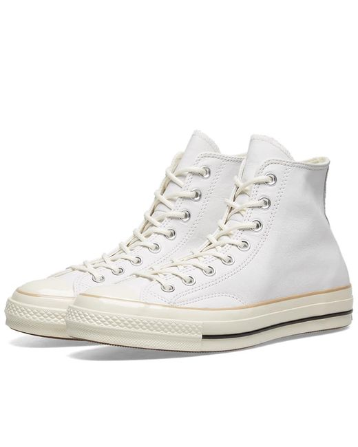 bccac58e586 Converse - White Chuck Taylor 1970s Hi Leather Boot for Men - Lyst ...