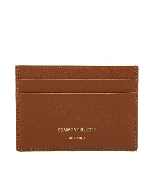 Common Projects - Brown Multi Card Holder for Men - Lyst