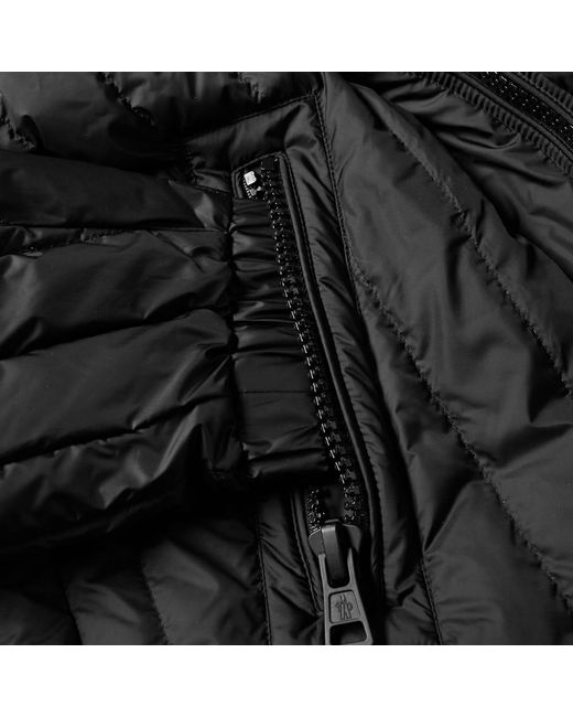 590fa3c30 spain moncler coat green umbrella leather 97113 37040