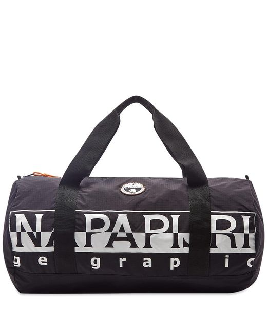 fca7818767 Napapijri Bering Holdall in Black for Men - Save 48% - Lyst
