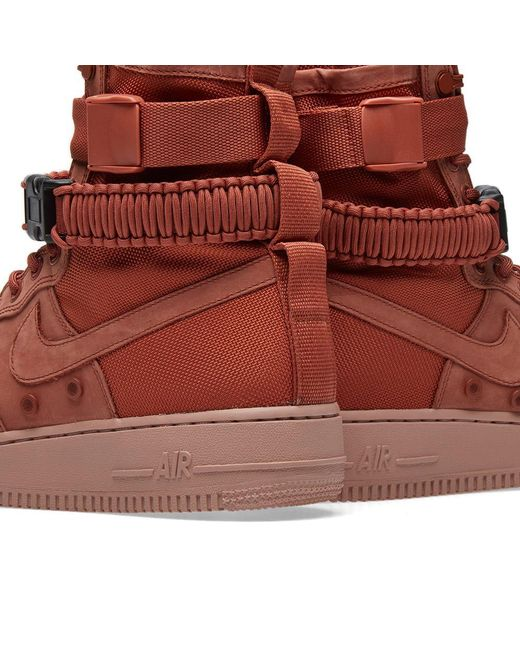 low priced a3e77 f55e8 ... Nike - Pink Sf Air Force 1 W for Men - Lyst ...