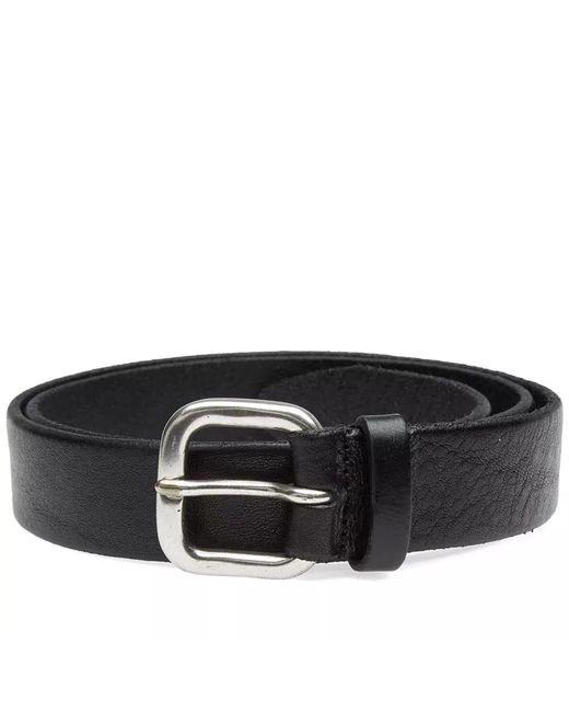 Andersons - Black Anderson's Burnished Leather Belt for Men - Lyst