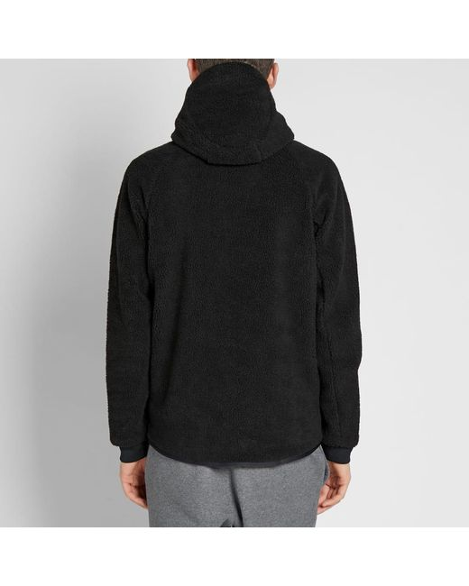 bfd0aefbc5 Lyst - Nike Tech Sherpa Wind Runner in Black for Men - Save 3%