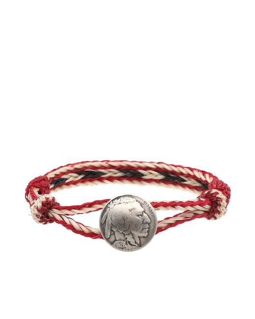 Chamula - Red Indian Concho Bracelet for Men - Lyst