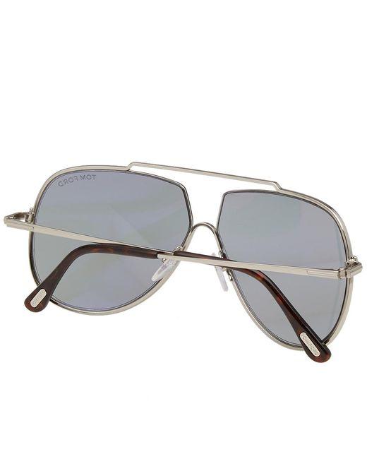73ccc934bbf ... Tom Ford - Gray Tom Ford Ft0586 Chase-02 Sunglasses for Men - Lyst ...