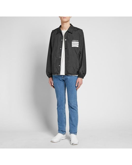 fb9403c5532 ... Maison Margiela - Black 10 Stereotype Coach Jacket for Men - Lyst