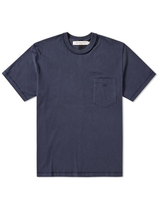 MR. COMPLETELY | Blue Pocket Tee for Men | Lyst