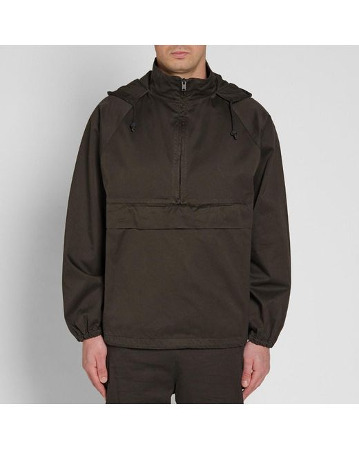 Brown Half-Zip Anorak Jacket Yeezy by Kanye West Fashion Style Many Kinds Of Online 9JenoO5zH0