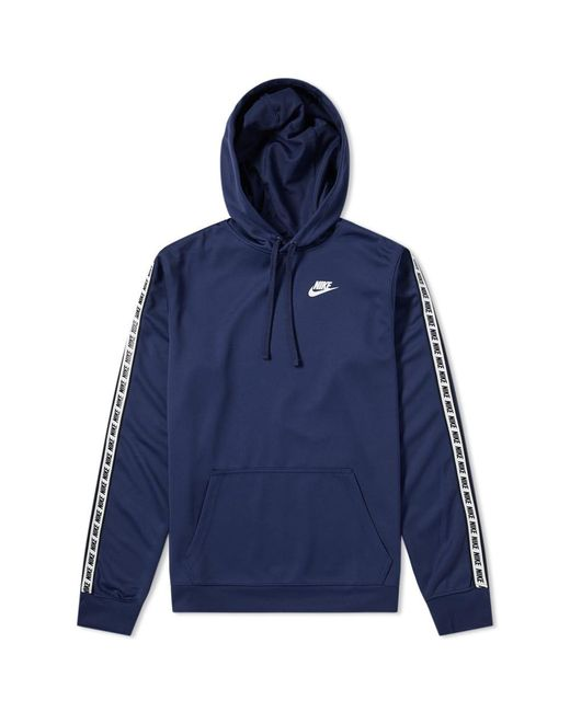 Nike - Blue Repeat Poly Pullover Hoody for Men - Lyst