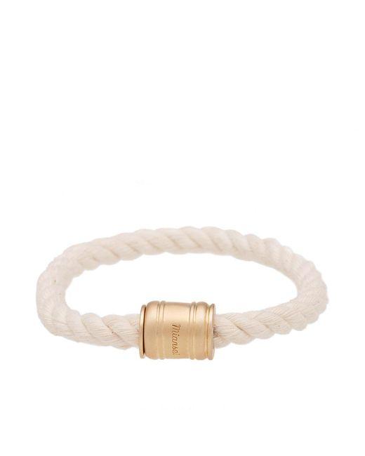 Miansai - White Single Casing Bracelet for Men - Lyst