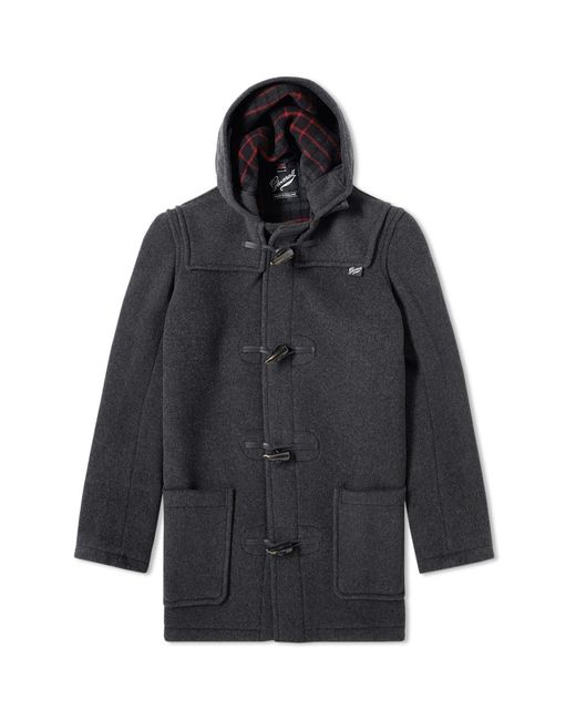 Gloverall | Gray Mid Length Duffle Coat for Men | Lyst