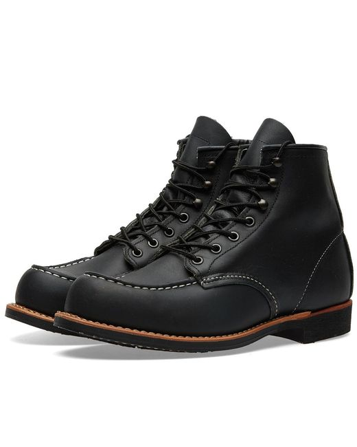 Red Wing | Black 2964 Heritage Work Cooper Moc Toe Boot for Men | Lyst