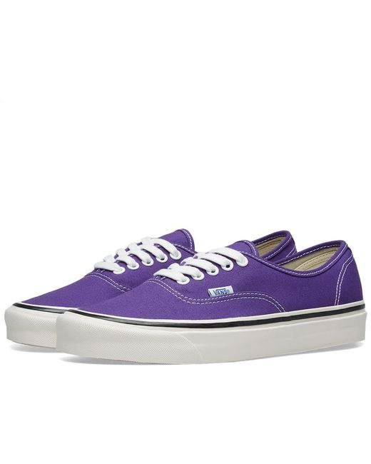 Lyst - Vans Authentic 44 Sneakers in Purple for Men - Save 7% b0e9226eb