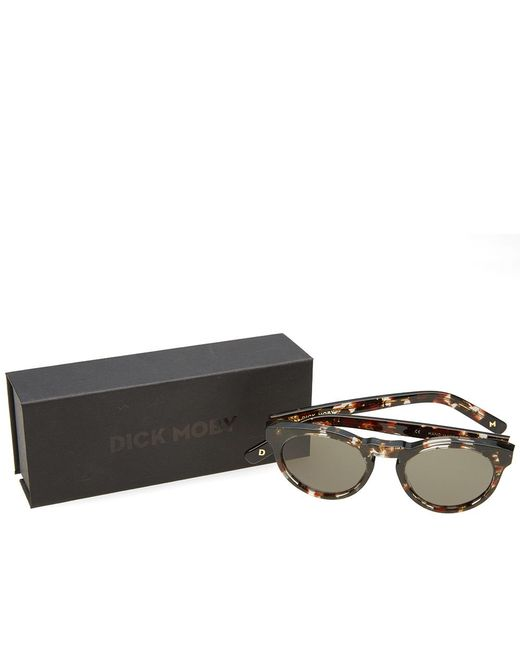 c212cf3bcd3 ... Dick Moby - Brown Lhr Sunglasses for Men - Lyst ...