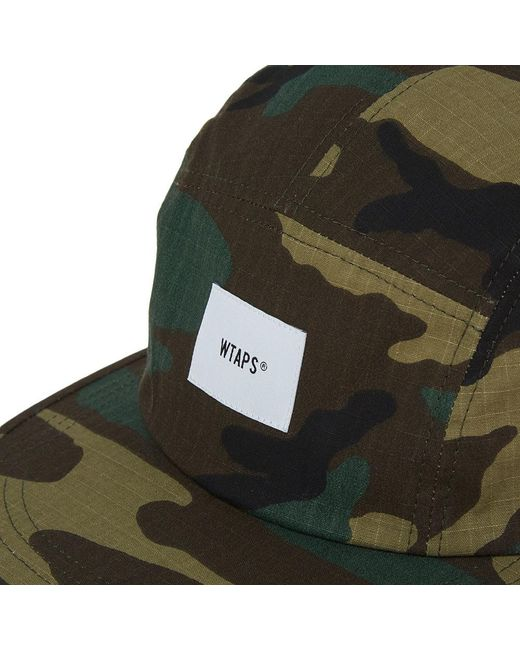 2393f67415f WTAPS T-5 03 Ripstop Cap in Green for Men - Lyst