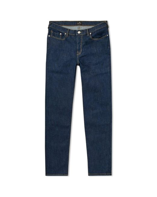 Paul Smith - Blue Tapered Fit Lightweight Stretch Jean for Men - Lyst