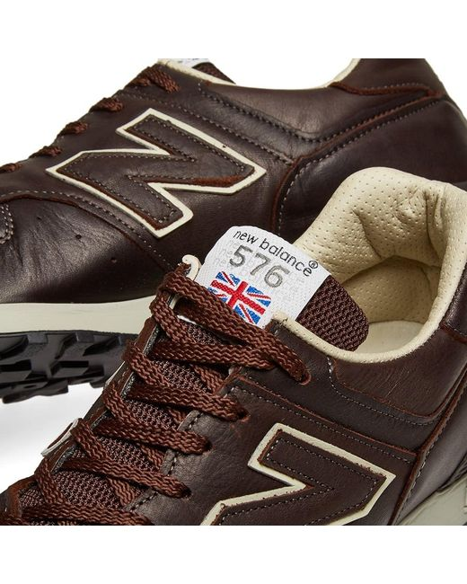 New Balance Leather M576cbb Made In England in Brown for