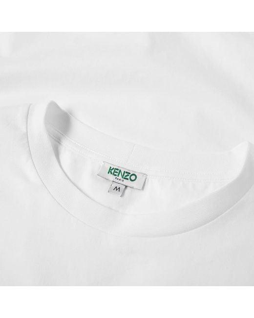 840c43c2 ... KENZO - White Classic Tee for Men - Lyst ...