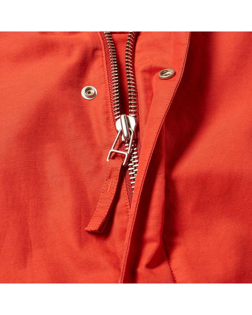 c4e5693c180 ... Norse Projects - Red Lindisfarne Nylon Jacket for Men - Lyst ...