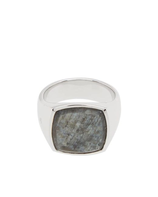 Tom Wood - Metallic Cushion Ring for Men - Lyst