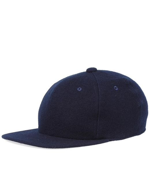 Blue Blue Japan - Blue Dyed Melton Baseball Cap for Men - Lyst