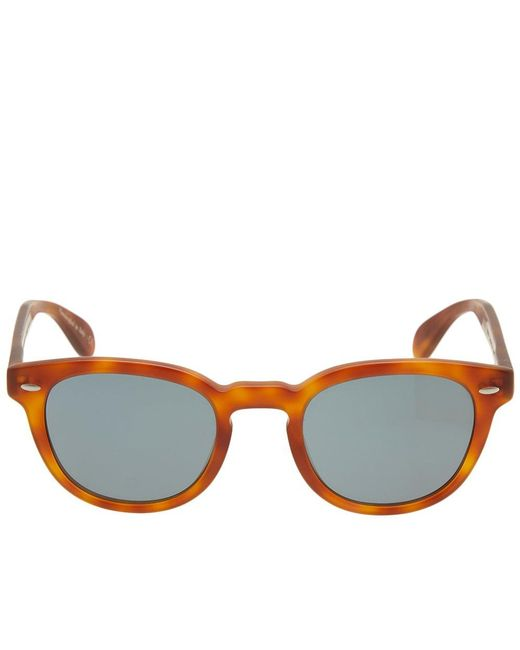 ccdd4d11db9 ... Oliver Peoples - Orange Sheldrake Sunglasses for Men - Lyst ...