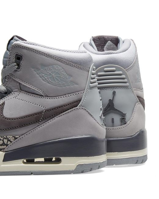 quality design 673b7 21ecc ... Nike - Gray Air Legacy 312 Wolf Grey graphite for Men - Lyst ...