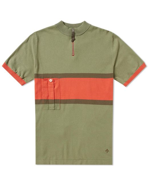 Nigel Cabourn   Green X De Marchi British Army Cycling Jersey for Men   Lyst