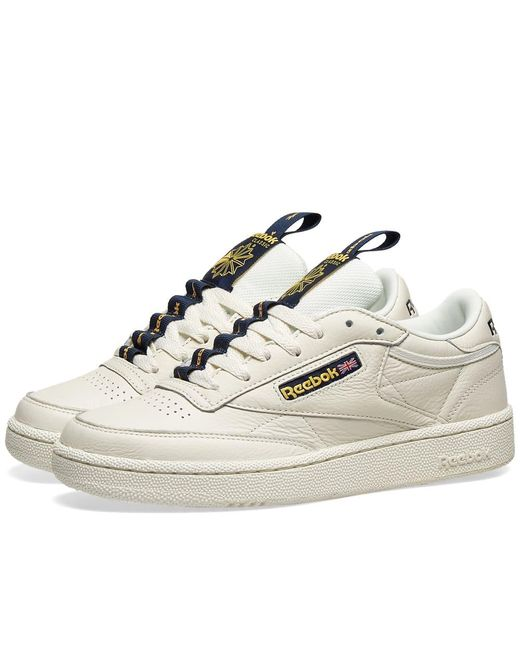 f3b49600b5d Reebok - White Club C 85 Mu for Men - Lyst ...
