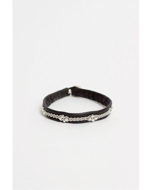 Maria Rudman - Black As3 Bracelet - Lyst