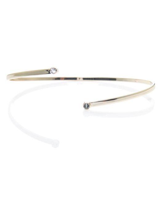 Karen Millen - Metallic Quantum Crystal Bracelet - Lyst