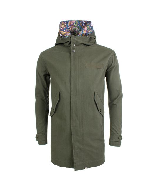 Pretty Green - Green Cassidy Parka for Men - Lyst