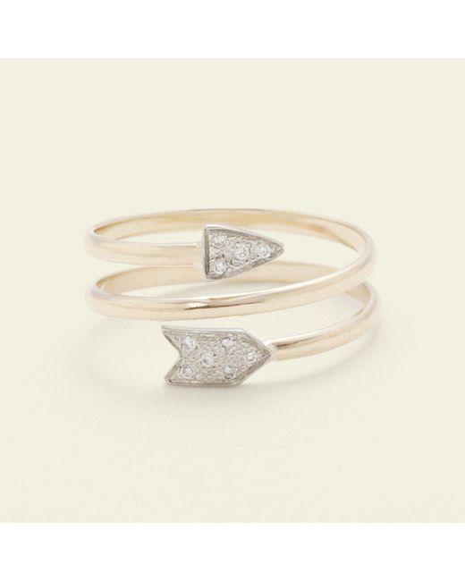 Erica Weiner | Metallic Artemis Spiral Ring | Lyst