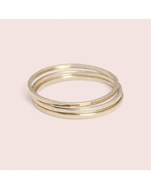 Erica Weiner - Yellow Guard Ring - Lyst