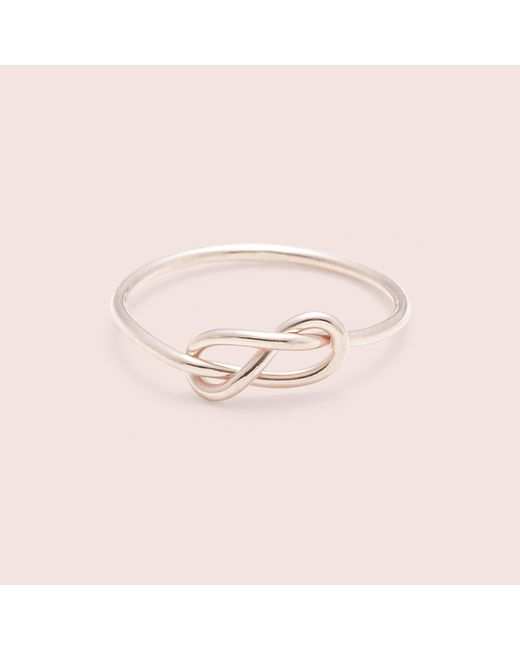 Erica Weiner | Pink Infinity Ring (rose) | Lyst