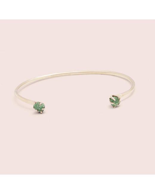 Erica Weiner | Multicolor Rough Gem Cuff (emerald) | Lyst