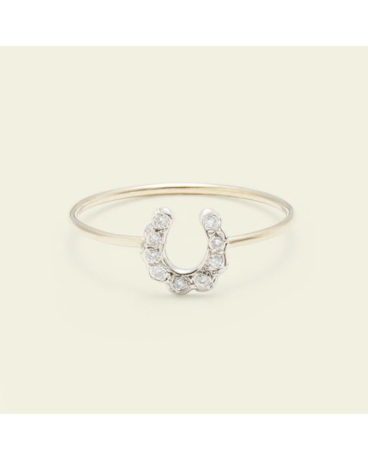 Erica Weiner | Metallic Horseshoe Ring | Lyst
