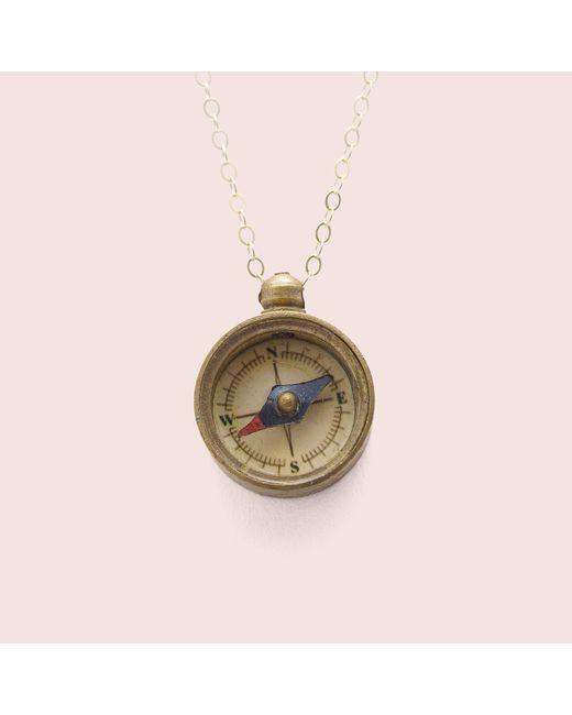 Erica Weiner | Brown Moral Compass Amulet | Lyst