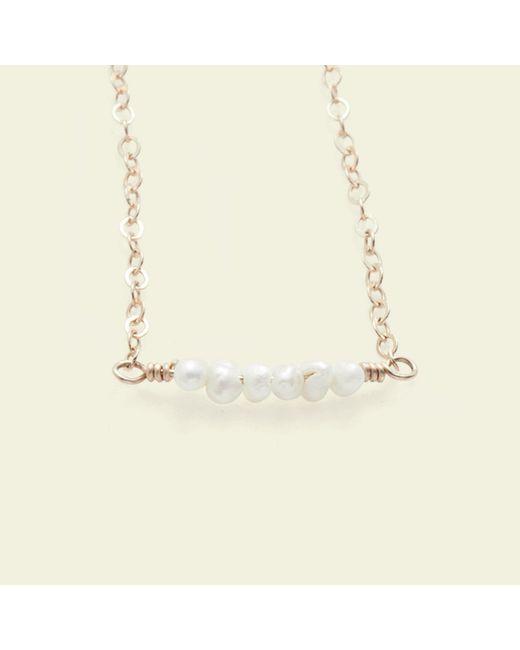 Erica Weiner - Metallic Diamondz & Pearlz Necklace (pearlz) - Lyst