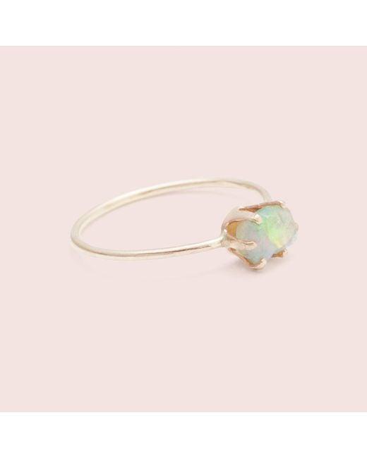 Erica Weiner | Pink Rough Gem Ring (opal) | Lyst