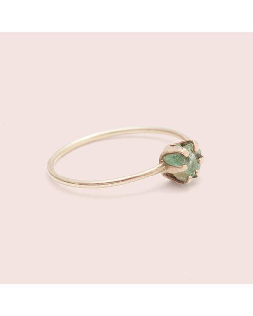 Erica Weiner | Multicolor Rough Gem Ring (emerald) | Lyst
